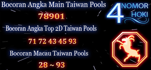 PREDIKSI ANGKA TAIWAN POOLS SABTU 27 APRIL 2019