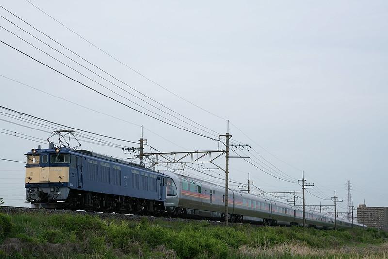EF64-37牽引 信州カシオペア紀行