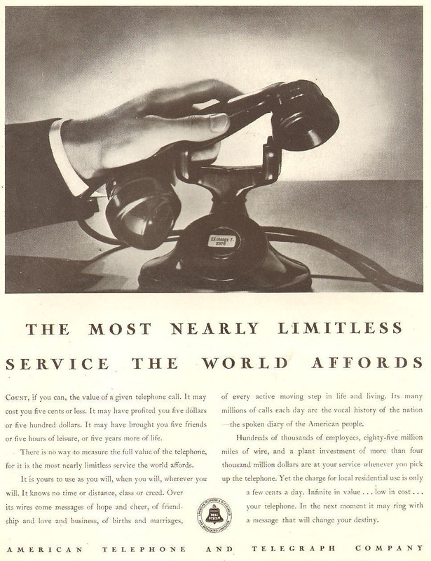 American Telephone & Telegraph Company 1932
