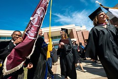 Alma College spring commencement