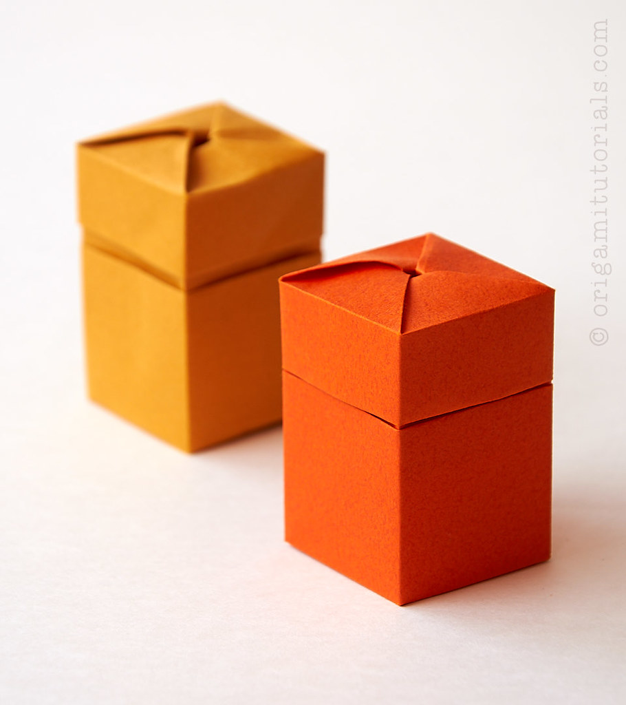 Twist Box - Darren Scott : origami | 1024x910