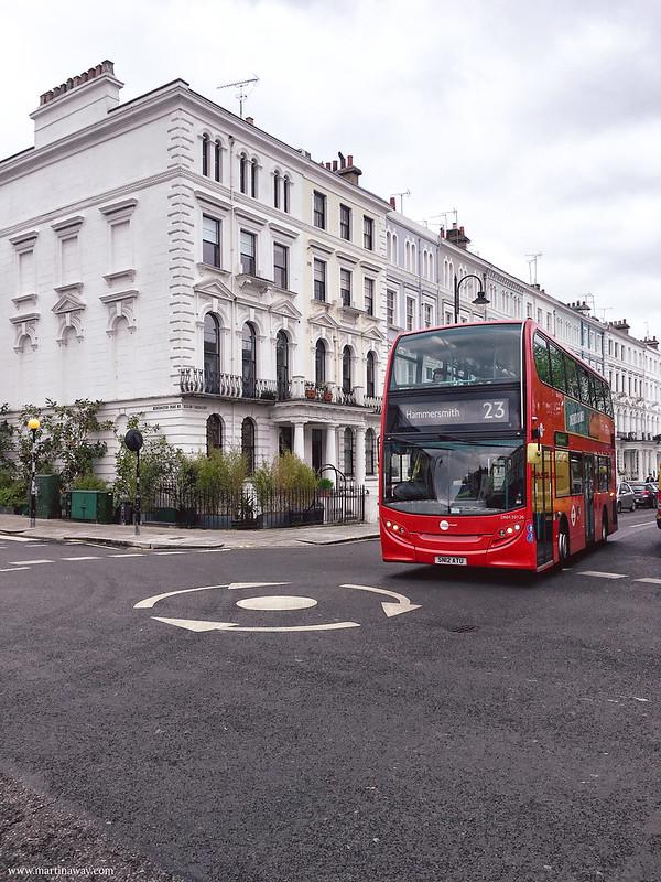 Autobus a Portobello