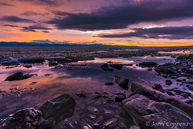 Lake Khövsgöl Sunset
