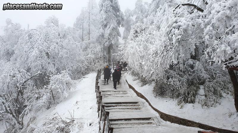 china mount emei hike