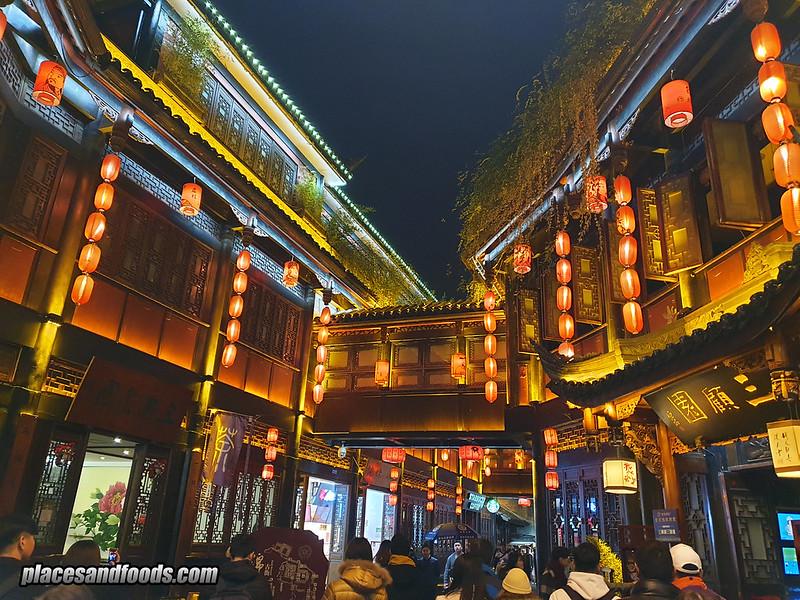 china jinli ancient street