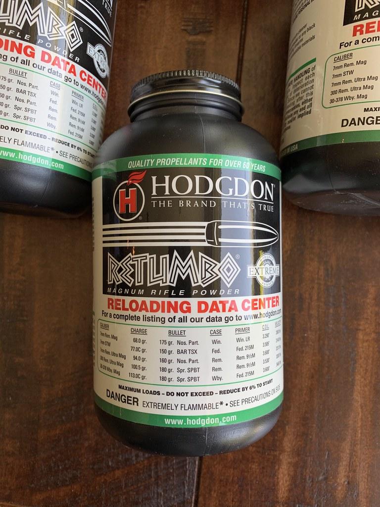 SOLD!!! WTS: Hodgdon Retumbo Powder 10-1LB Kegs | Sniper's