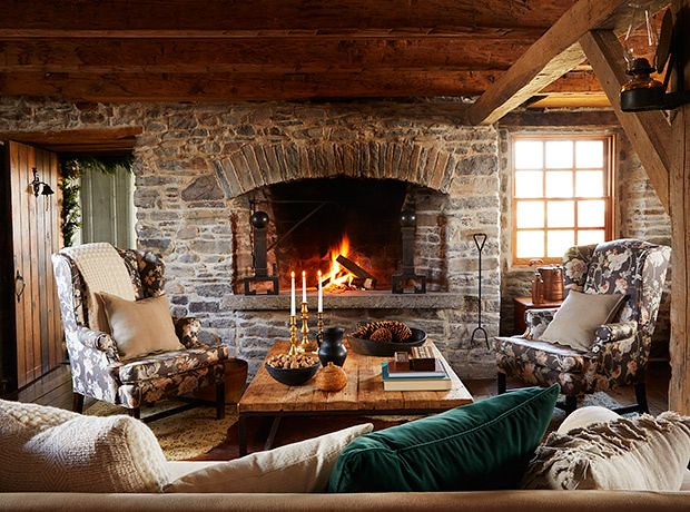 40+ Cozy Living Rooms You'll Want To Hibernate In This Winter