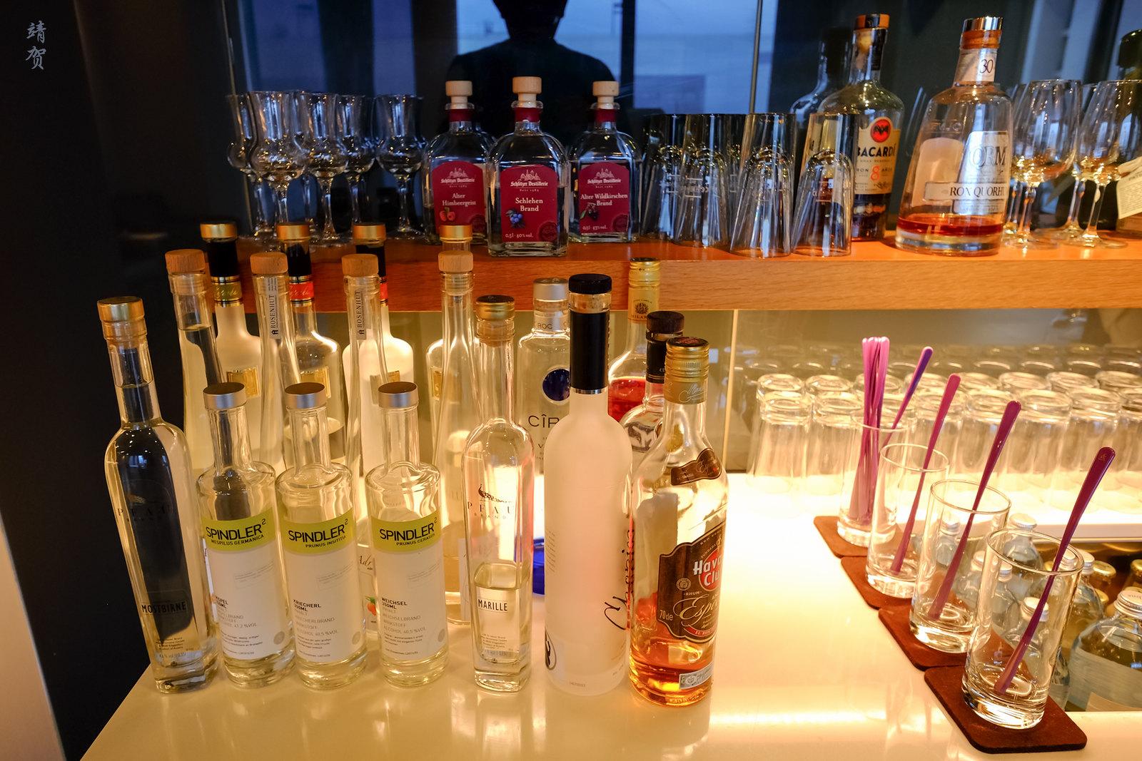 Liquor in the Cigar lounge