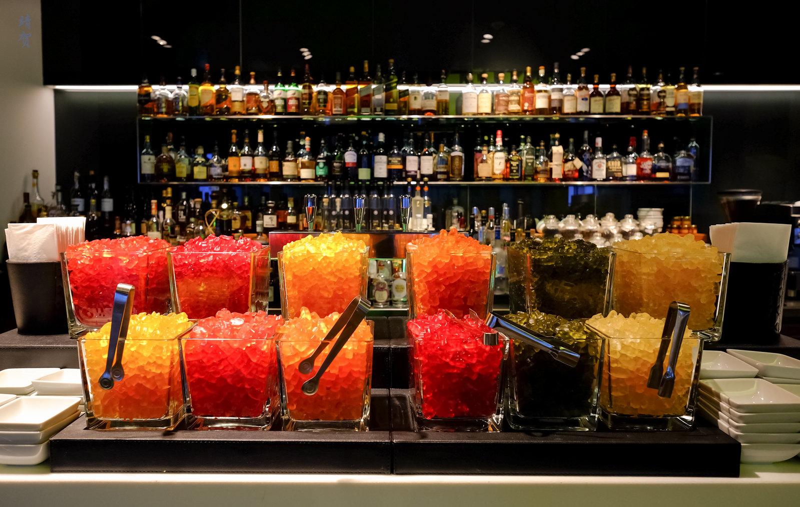 Gummy bears on the bar