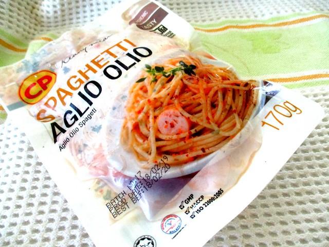 CP aglio olio spaghetti
