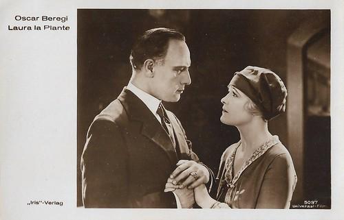 Laura La Plante and Oscar Beregi in Butterflies in the Rain (1926)