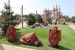 Hafan Y Mor - Play grounds and outdoor spaces