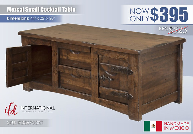 Mezcal Small Cocktail Table_IFD5670CKT