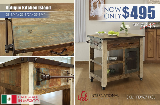Antique Kitchen Island_IFD9671KSL