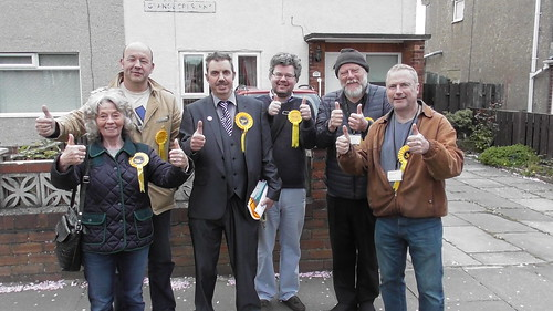 Canvassing in Heworth Apr 19