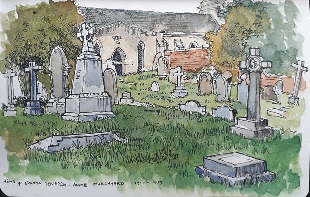 St Stephen's churchyard, Acomb, York: All done