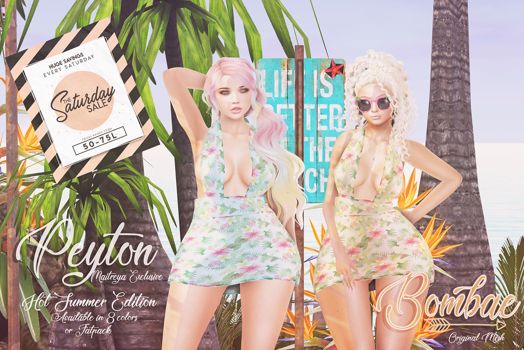 {Bombae} Peyton Hot Summer Edition for the Sat Sale!