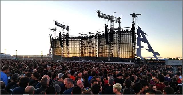 Metallica, comienza el espectáculo