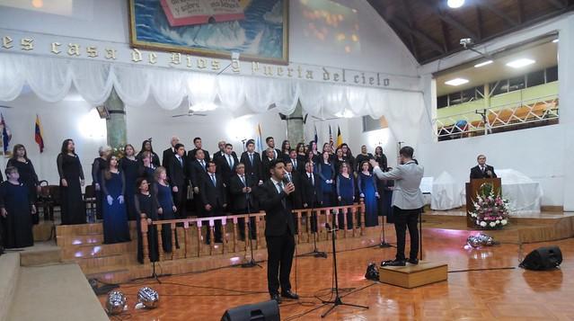 "Coro Polifónico de San Bernardo realiza concierto de Semana Santa ""Vivo Está"""