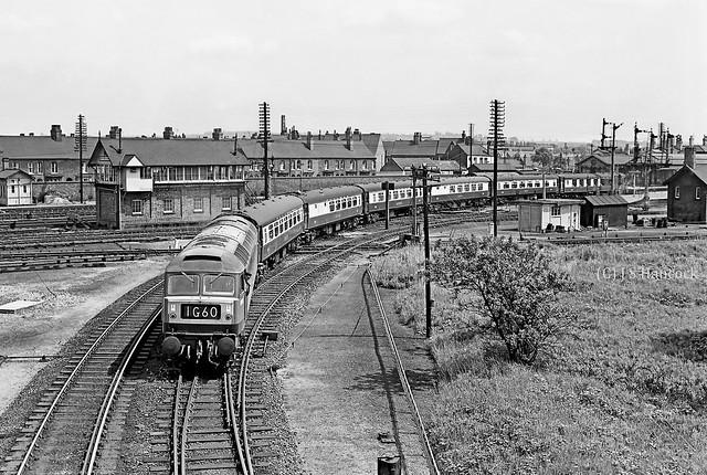 D1771. London (Kings Cross) - Sheffield Pullman service.