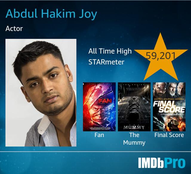 Spotlight View Pin : 4055-7833-4778  https://www.spotlight.com/interactive/cv/4055-7833-4778  http://www.a-hakim.com  https://m.imdb.com/name/nm7700237/  https://www.starnow.co.uk/abdulhakimjoy  https://m.facebook.com/ahakimjoy/?ref=bookmarks  https://twi