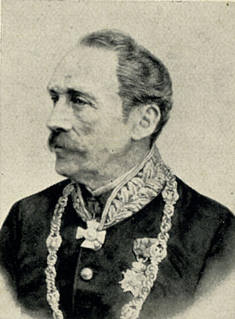 portret van JJAA van Pallandt