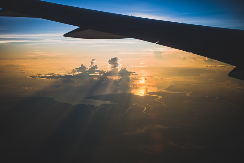 Above Sumatra