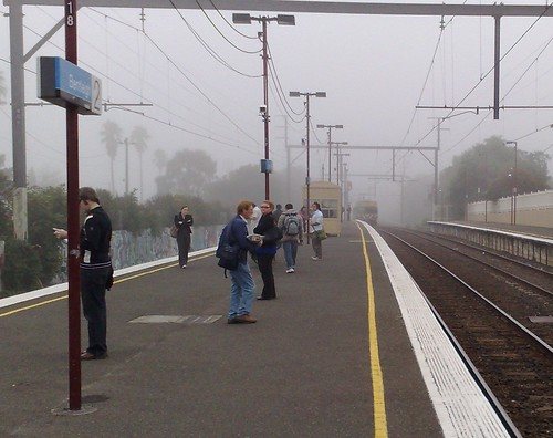 Bentleigh station, April 2009