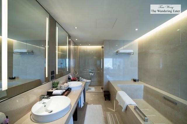 Huge bathroom at Deluxe Suite Room
