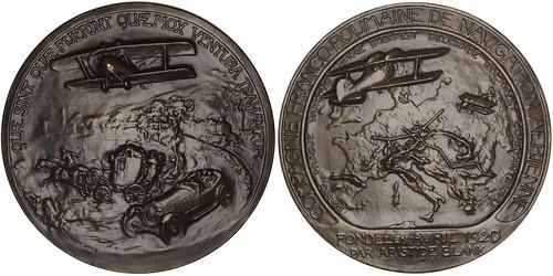 Aristide Blank Bronze Medal