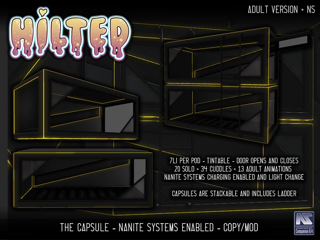 HILTED - The Capsule - TeleportHub.com Live!