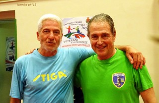 Gianfranco Dell'Omo con Rosario Troilo