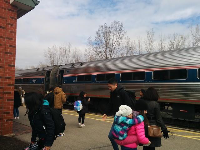 Disembarked #ontario #niagarafalls #niagara #rail #viarail #amtrak #train