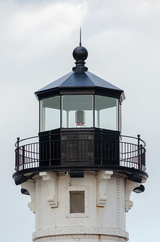 Duluth Trip - April 2019 - Duluth Trip - North Pier Lighthouse Lantern Detail