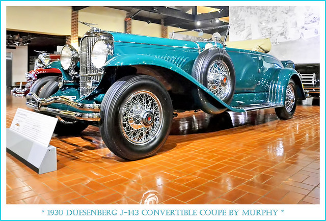 1930 Duesenberg J-143 Convertible Coupe