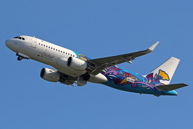 PK-GQI Airbus A320-214/WL Citilink cn 6434