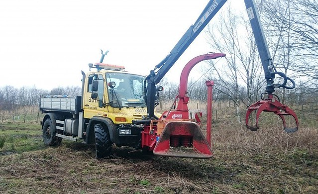 unimog 405 arboriculture  tree management and removal
