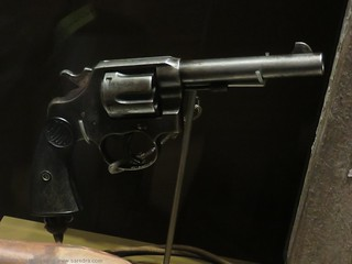 Colt service revolver recovered from the body of Lieutenant Harold WANLISS | by SandyEm