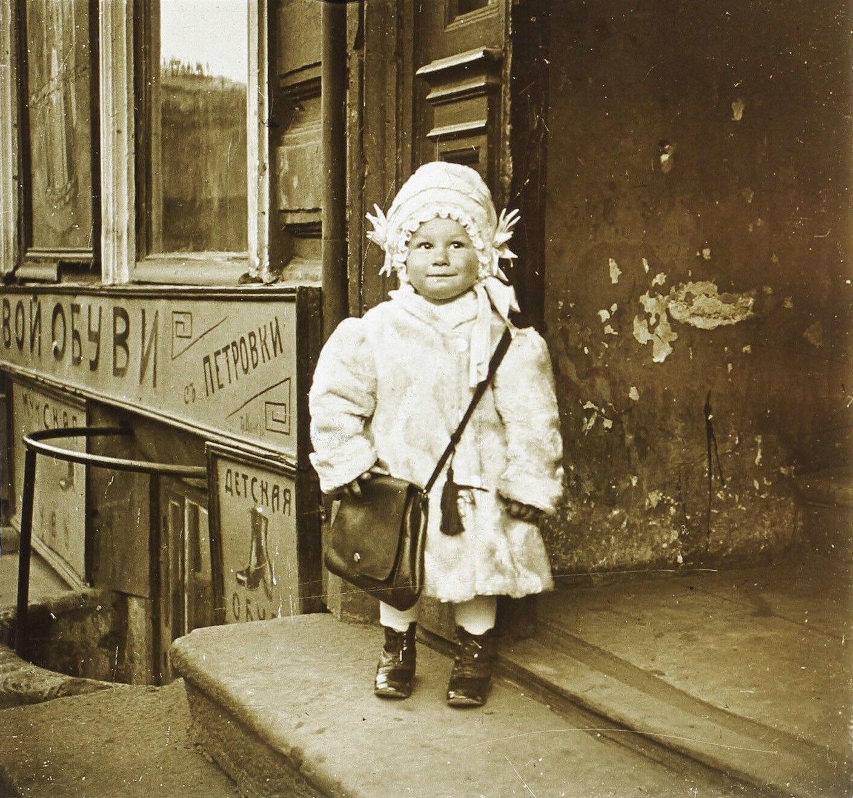На Кузнецком мосту. 1913.