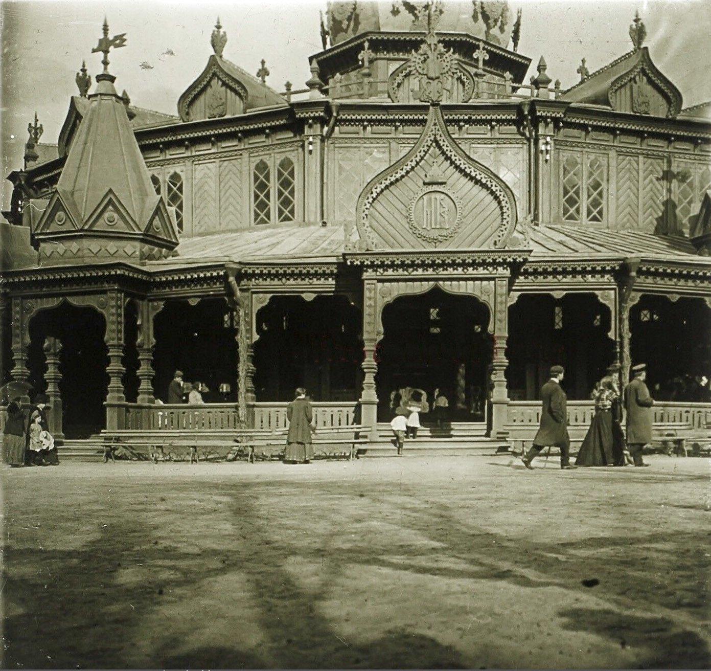 Царский павильон в Сокольниках. 1910-е