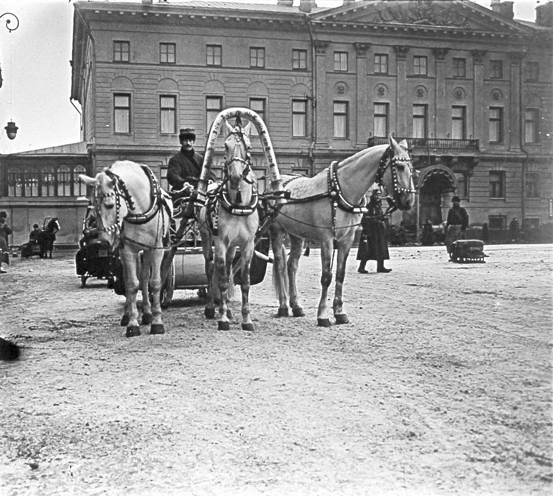 Тверская площадь. 1910
