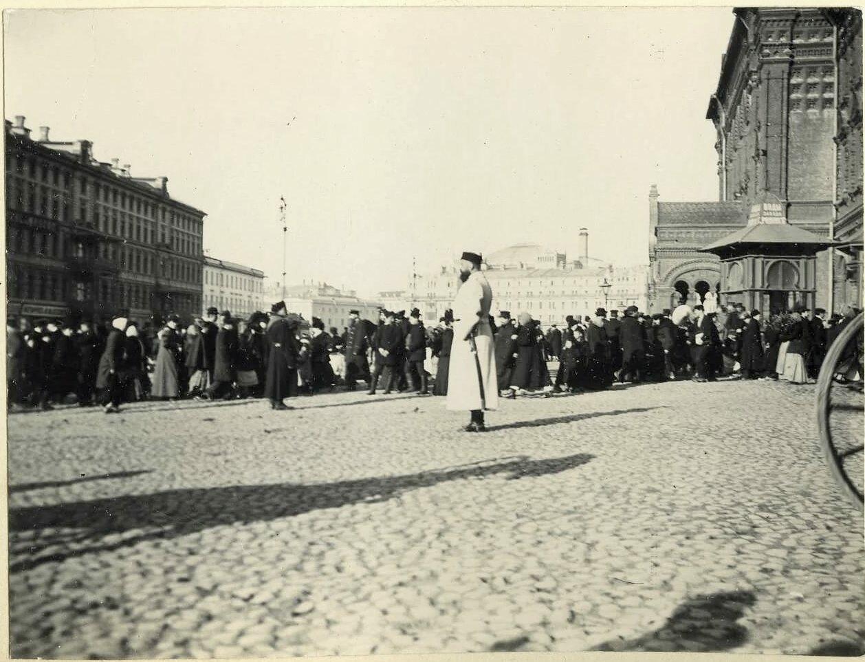 Вербный разъезд. 1906
