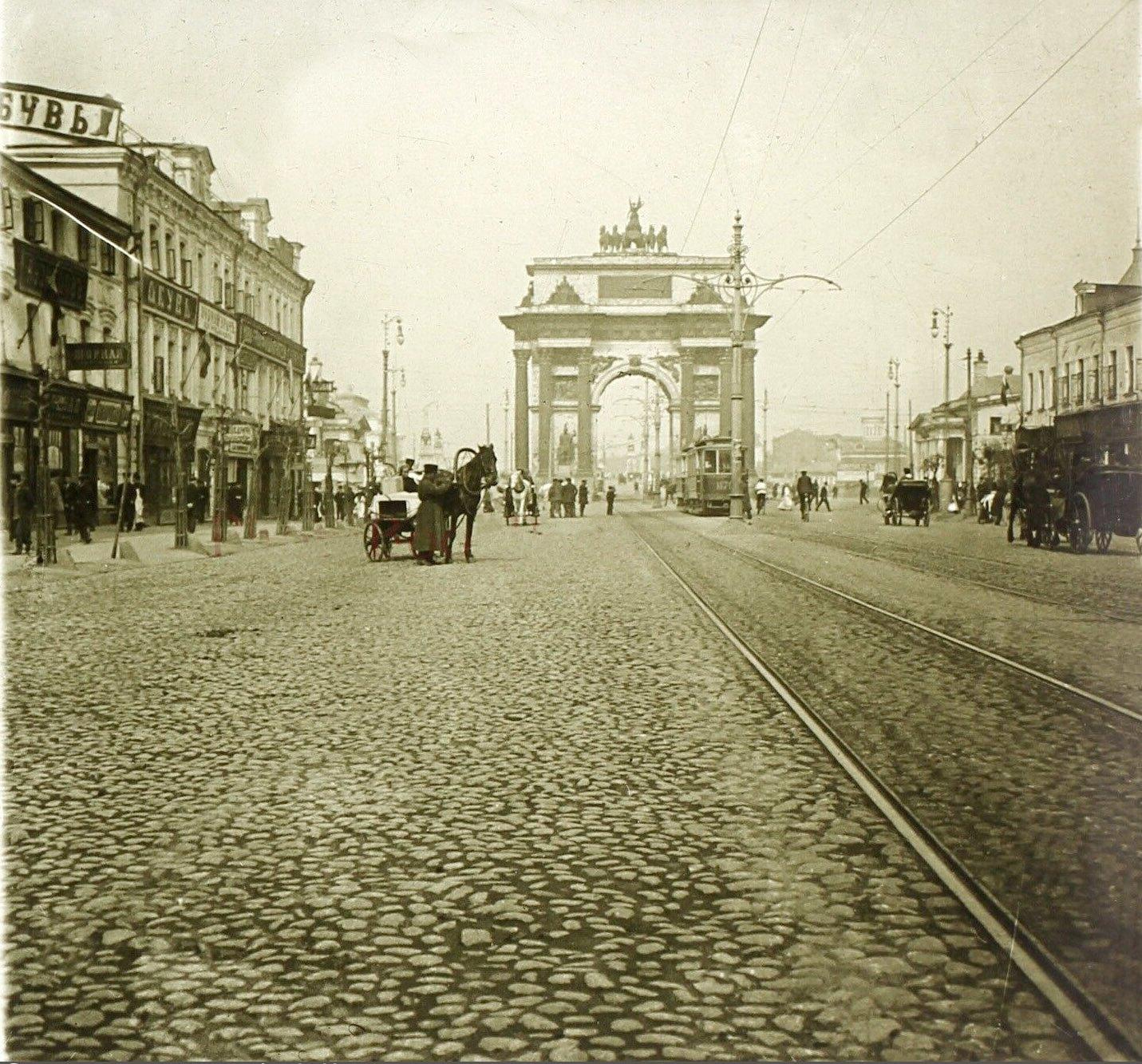 1-я Тверская-Ямская улица. 1913