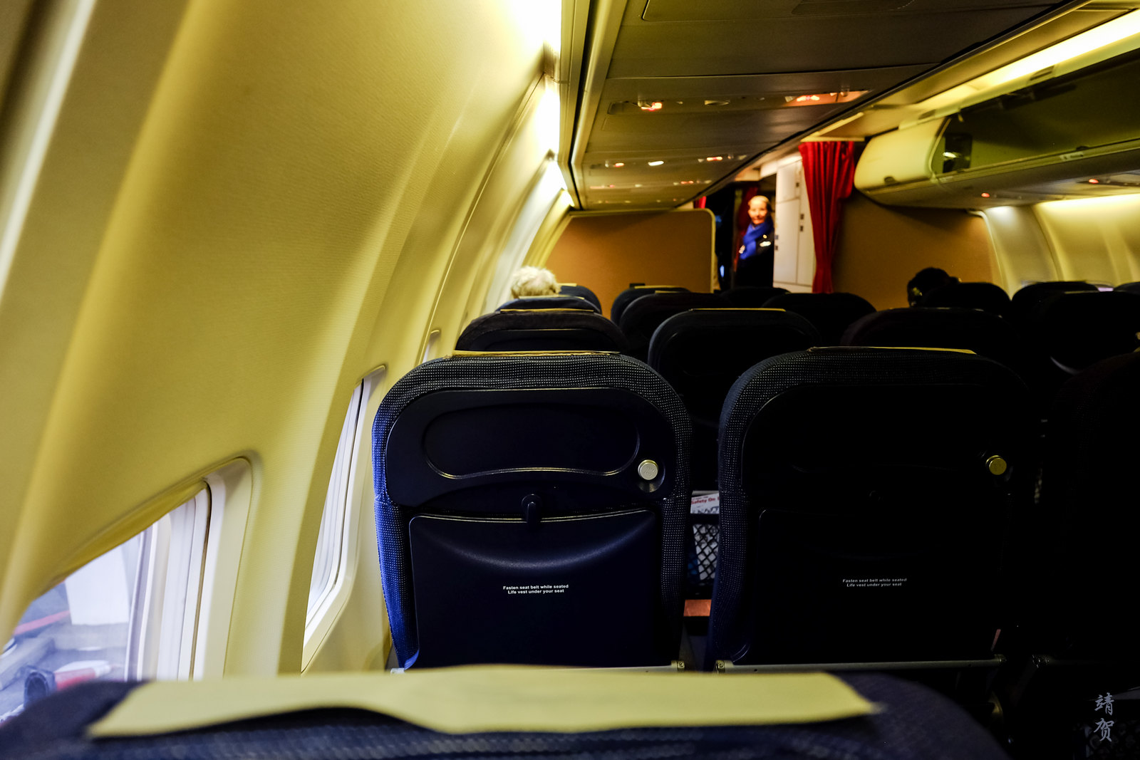 Onboard SAS 737-700