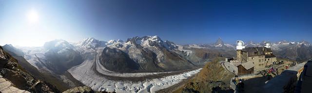 Panoramica  zermatt gornergrat