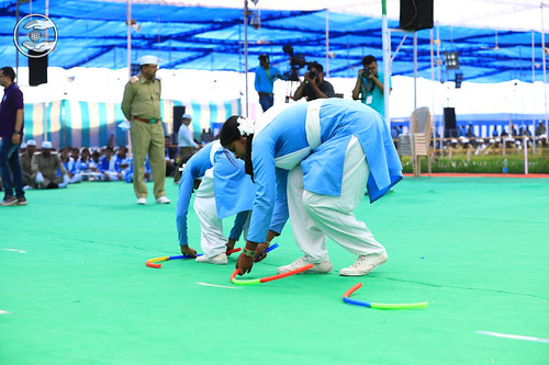 A game by ladies Sewa Dal