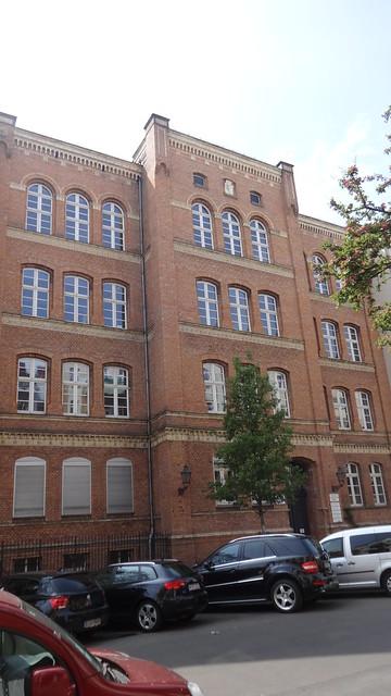 1872/73 Berlin 76. Gemeindeschule von StBR Hermann Blankenstein/Arnold Hanel Muskauer Straße 53 in 10997 Kreuzberg