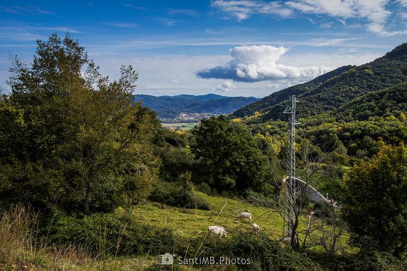Sant Este d'en Bas desde La Carrera