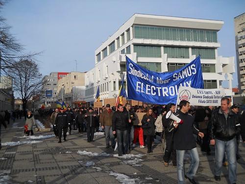 Solidaritate cu greviștii de la Electrolux Satu Mare