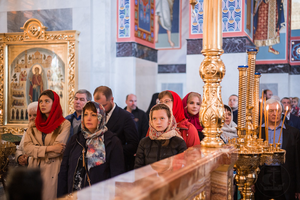 5 мая 2019, Литургия в Воскресенком Новодевичьем монастыре / 5 May 2019, Divine Liturgy at Novodevichy monastery of Resurrection